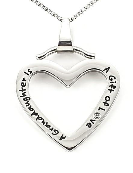 Amazon.com: Una nieta es un regalo de amor alta pulido ...