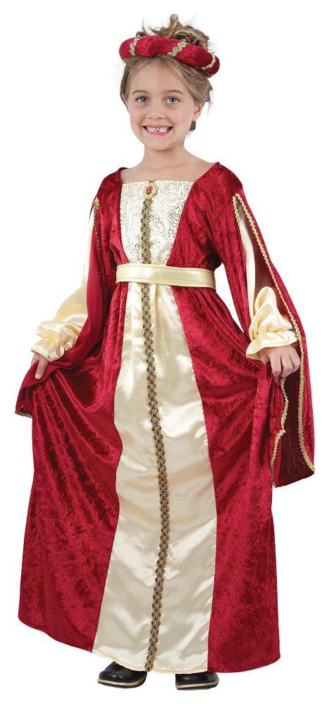 Royal Regal Princess- Royal Wedding- Tudor Princess Childrens Costume Medium