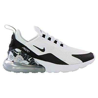 Nike Women's Air Max 270 SE Shoes (8.5, Black/White) | Road Running