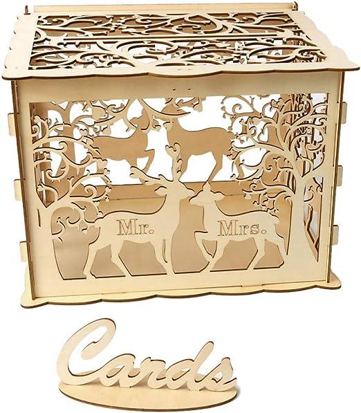 Suministros de madera caja de caja de dinero del accesorio de la ...
