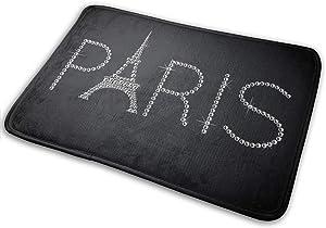 NGFF Paris Tower Diamond Entrance Floor Mat Home Decor Carpet Indoor Rectangle Doormat Kitchen Comfort Mats
