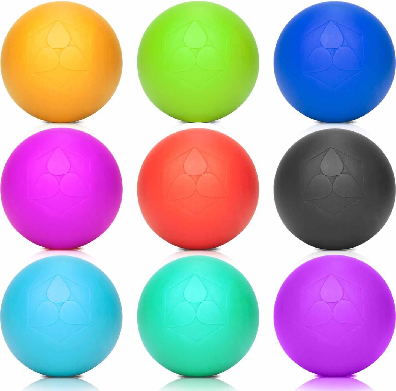 DoYourFitness Bola de Lacrosse »Lio« (6 cm de diámetro), masajear ...