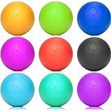 Lacrosse Ball »Lio« (6cm Durchmesser) in vielen Farben zur Massage von Triggerpunkten. Idealer Massageball / Massagerolle zur punktuellen Behandlung von Verspannung & Verhärtungen ähnlich dem Faszientraining (Faszienrolle):