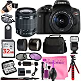 Canon Rebel T6i Digital SLR Camera Bundles (ULTIMATE Bestselling Camera Works Bundle!!)