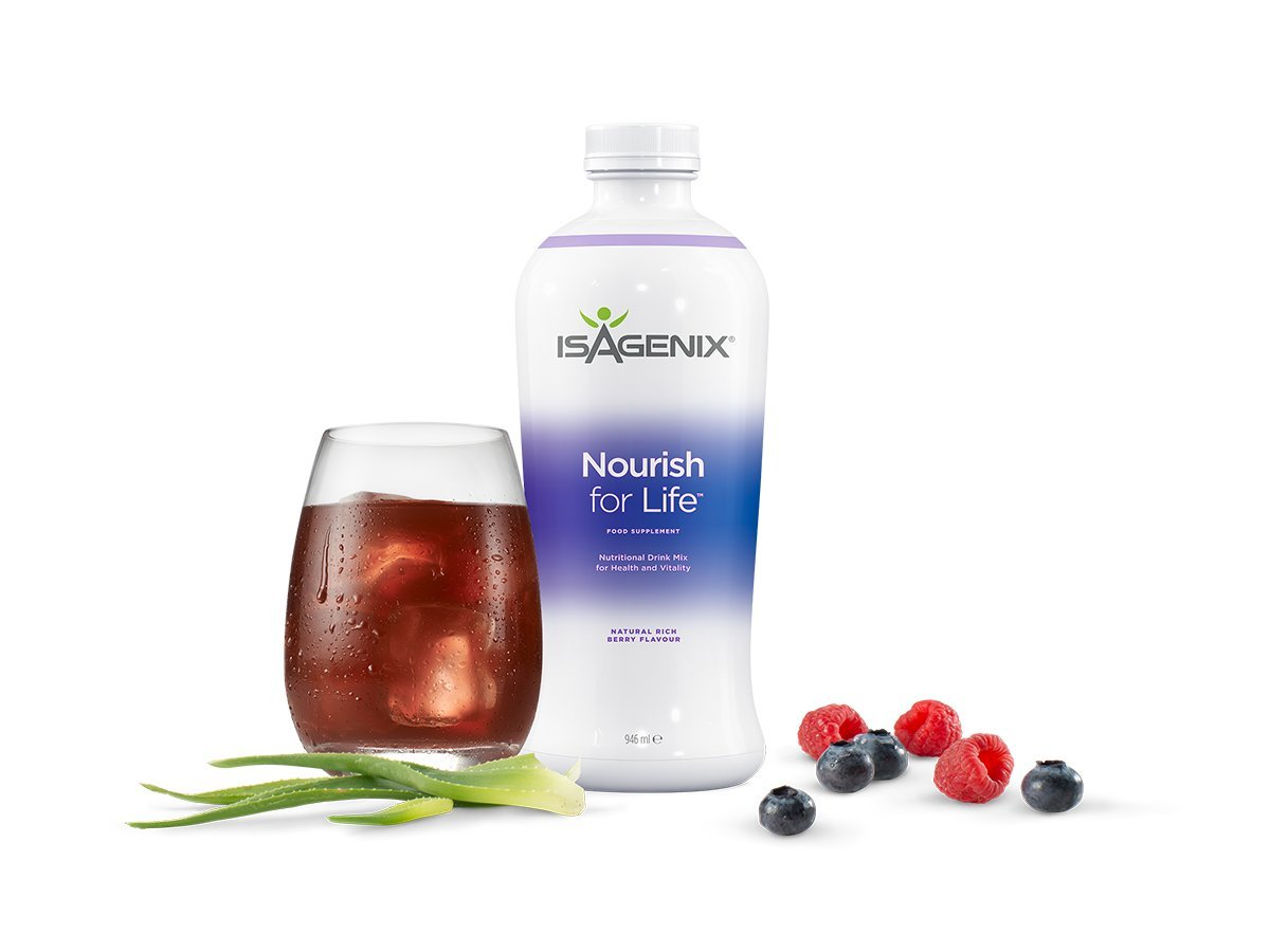 Isagenix - Cleanse for Life 32 oz Bottle (Natural Rich Berry Flavor)