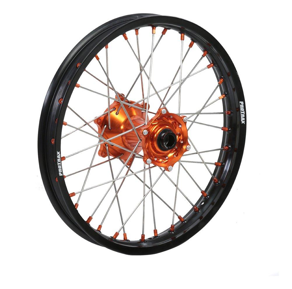 Protrax Complete Rear Wheel Rim 19X1.85 Orange Hub Ktm 250EXC 300 EXC MXC 91-05