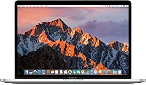 Apple 15in MacBook Pro, Retina, Touch Bar, 2.9GHz Intel Core i7 Quad Core, 16GB RAM, 512GB SSD, Silver, MPTV2LL/A (Renewed)