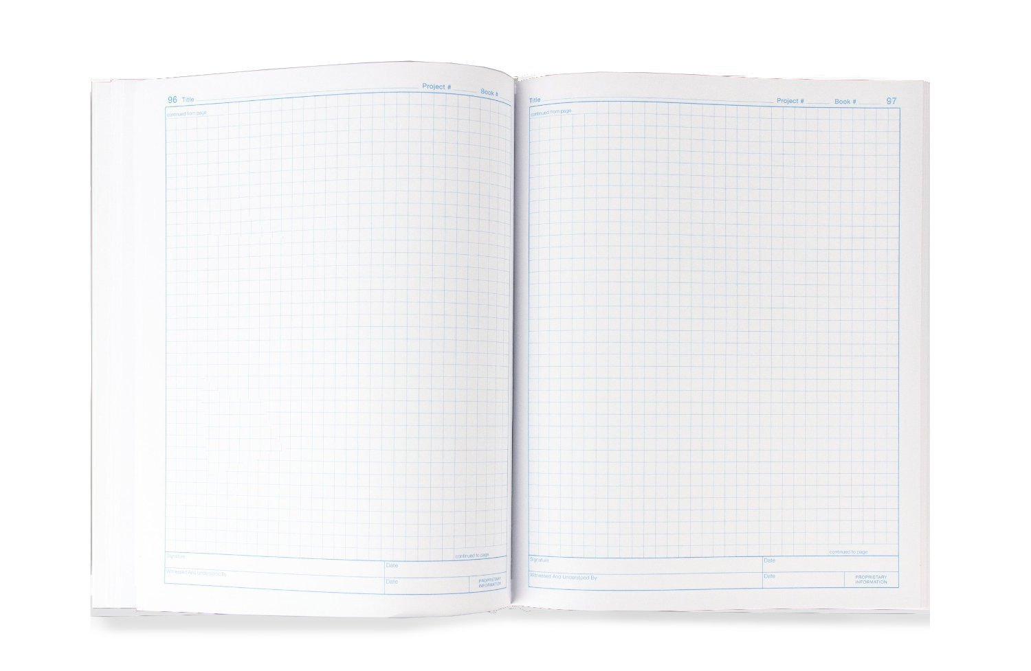 Vela Sciences Advanced Softcover Lab Notebook, 9.25 x 11.75 inches, 144 Pages (Grid+) by Vela Sciences (Image #4)