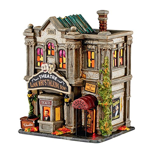 Department 56 Halloween Village Look Who's Talking Now Theater Building 4051010