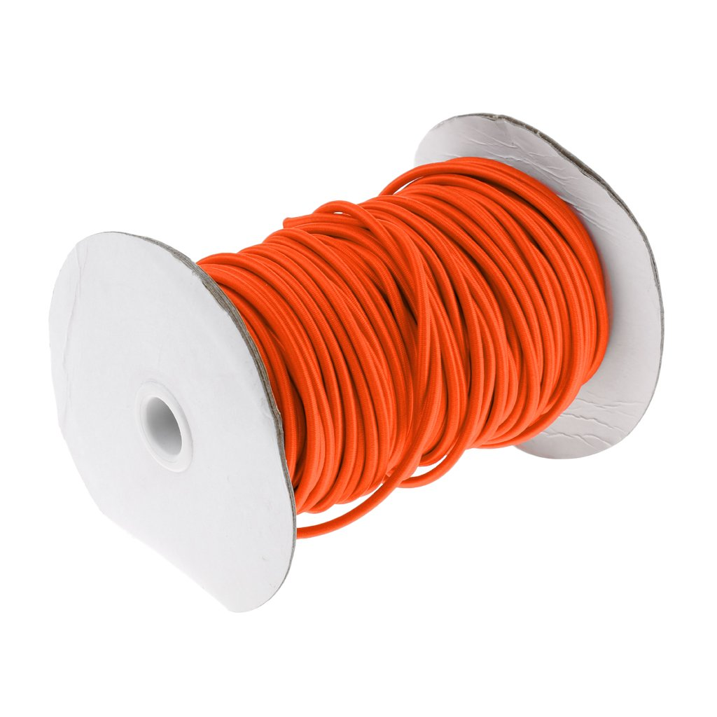 FLAMEER Cable de Choque Marino de Cuerda El/ástica de 4 mm Amarre Portaequipajes