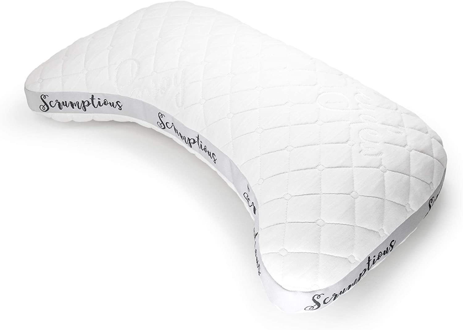Scrumptious Side Sleeper Pillow with Copper Filling. Buy side sleeping pillow online.