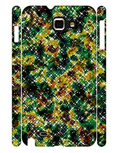 Morden Series Cell Phone Case With Galaxy Graphic Snap On Case Cover for Samsung Galaxy Note I9220 by lolosakes