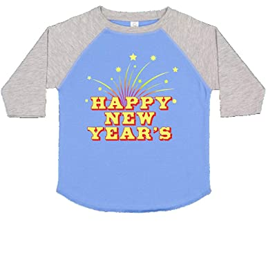 d9b02820c Amazon.com: inktastic - Happy New Year's Toddler T-Shirt 2768f: Clothing