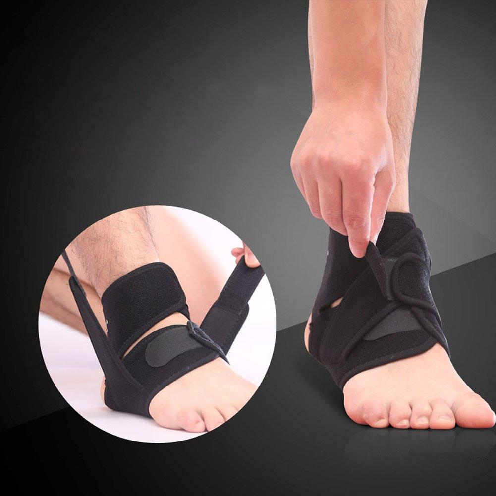 Sixinu Ankle Foot Support Elastic Brace Adjustable Football Basketball sprain injury
