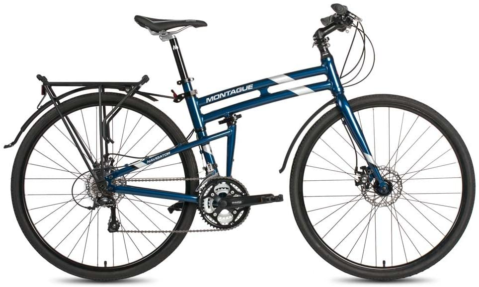 best hybrid bikes under 1000: Montague Navigator Folding 700c Pavement Hybrid Bike