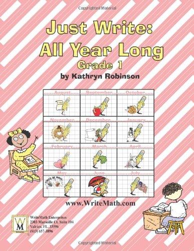 First Grade Writing Activities, Prompts, Rubrics | Week-By-Week Writing Curriculum (Just Write, Grade 1)
