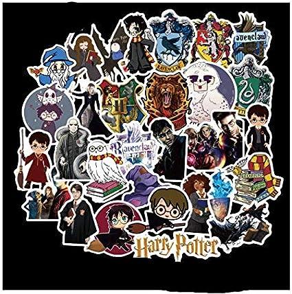 ZJJHX Pack Harry Potter Pegatinas de Personalidad PVC Pegatinas de ...