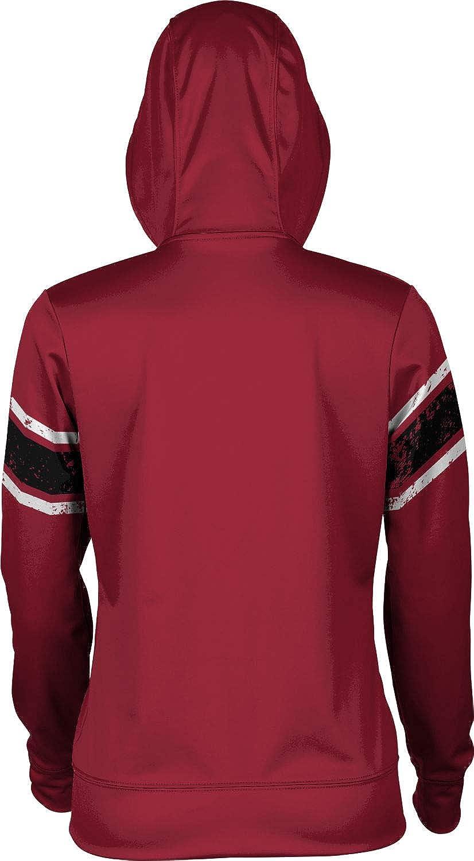 School Spirit Sweatshirt End Zone ProSphere Temple University Girls Pullover Hoodie