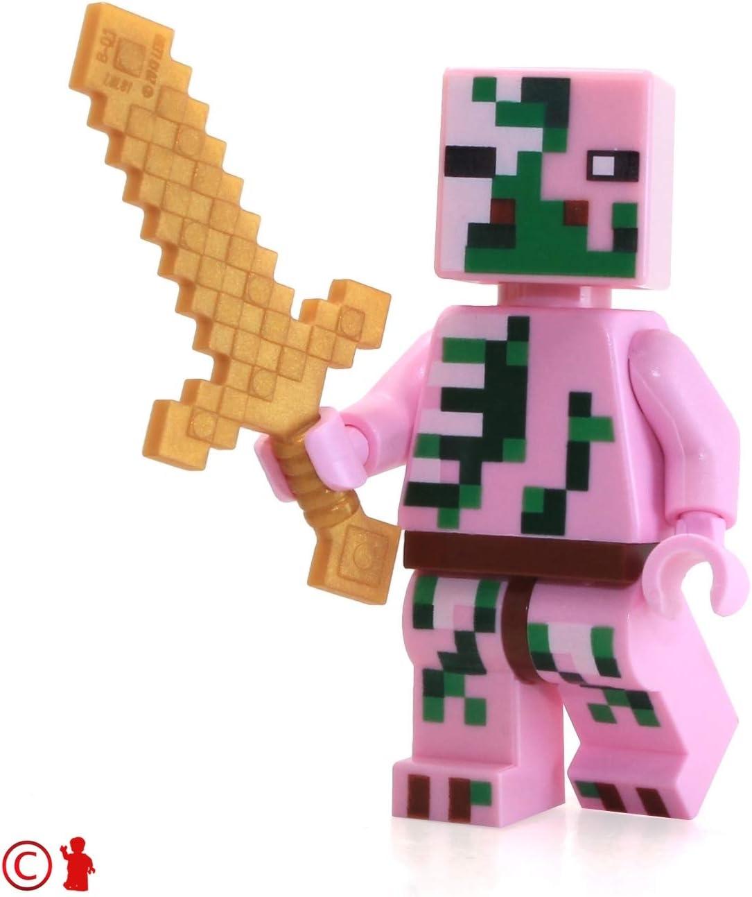 LEGO Minecraft MiniFigure - Nether Fortress Zombie Pigman Exclusive Minifigure