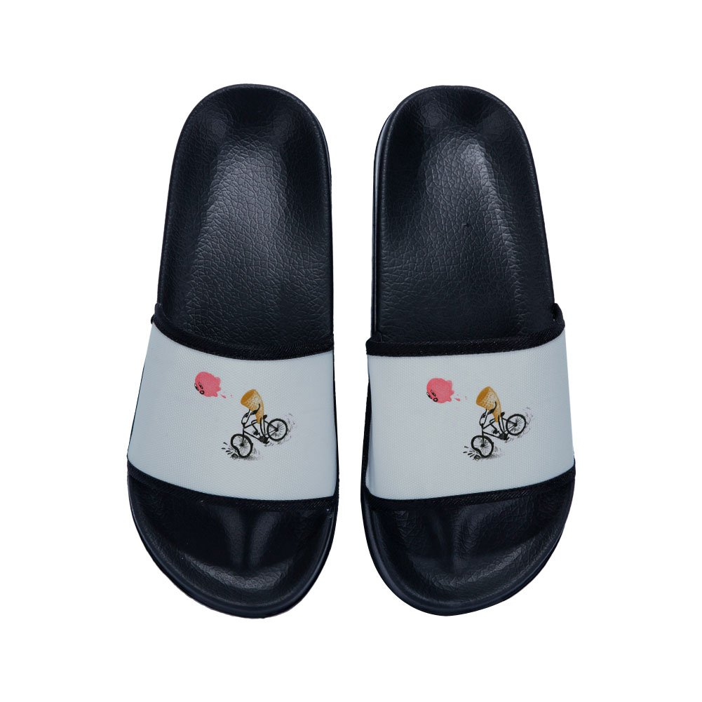 CoolBao Boys Girls Anti-Slip Bath Slippers Bathroom Slippers Shower Shoes Gym Slippers Little Kid//Big Kid