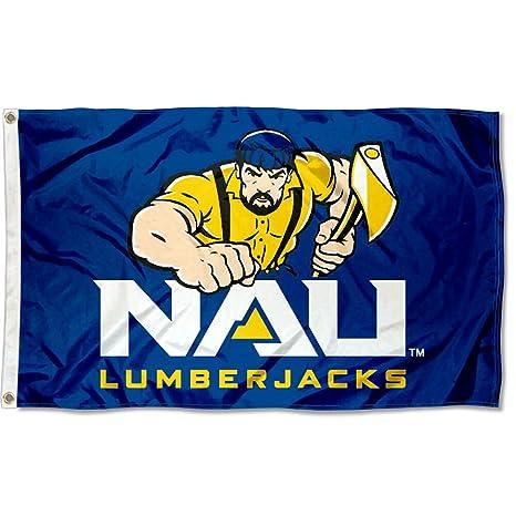 d363b639302d Amazon.com   Northern Arizona Lumberjacks NAU University Large ...