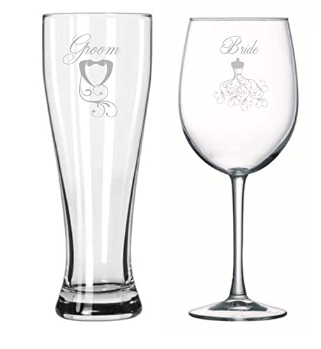 bride groom toasting glasses engagement gift wedding couples gifts bridal shower