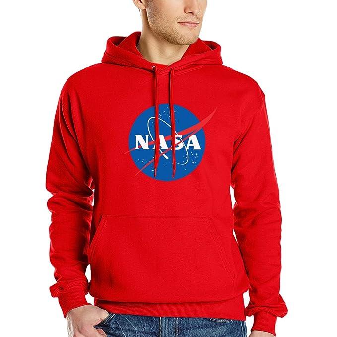 WTUS Sweatshirt Hoody - Sudadera con capucha Negro de NASA Space Exploration: Amazon.es: Ropa y accesorios
