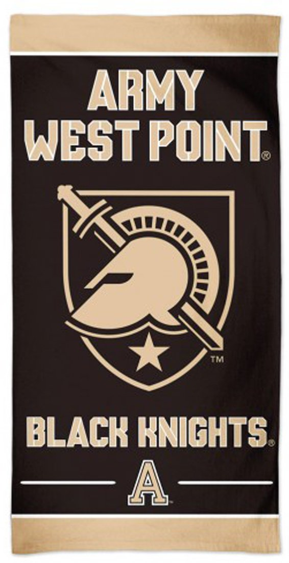 Army West Point Black Nights Beach Towel with Premium Spectra Graphics
