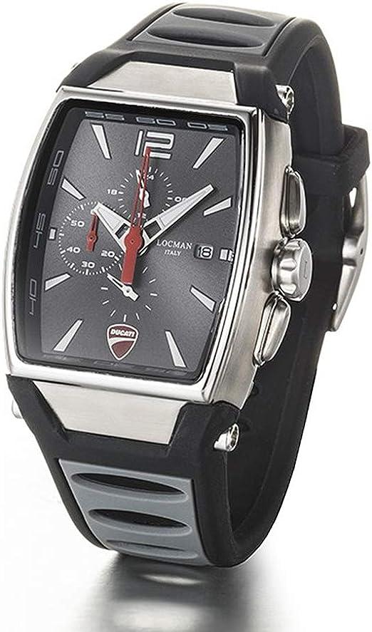 Cronografo uomo ducati acciaio e titanio nero locman D550A07S00GYWHSA