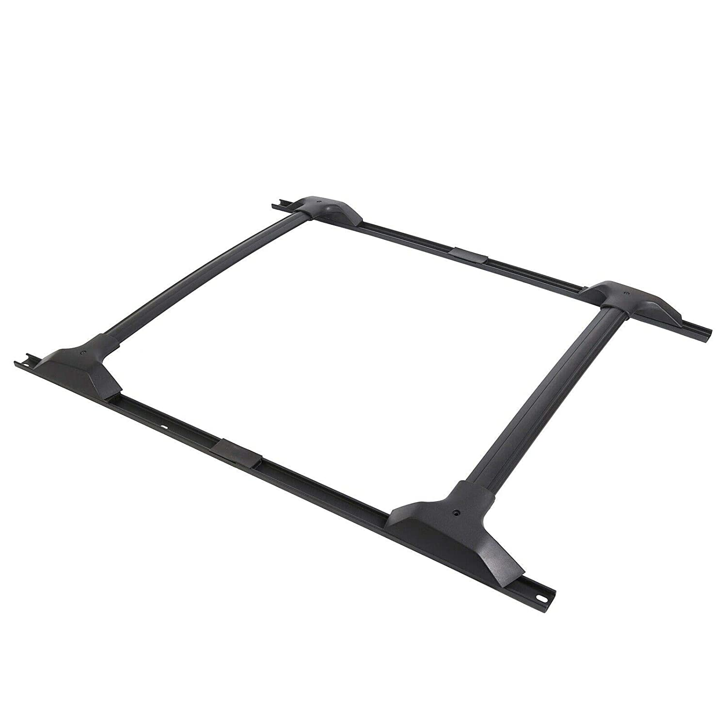 Roof Cross Bars NO7RUBAN Roof Rack Cross Bars /& Side Rail Package for 2009-2017 Chevy Chevrolet Traverse Sport Utility Aluminum Part # 19244268