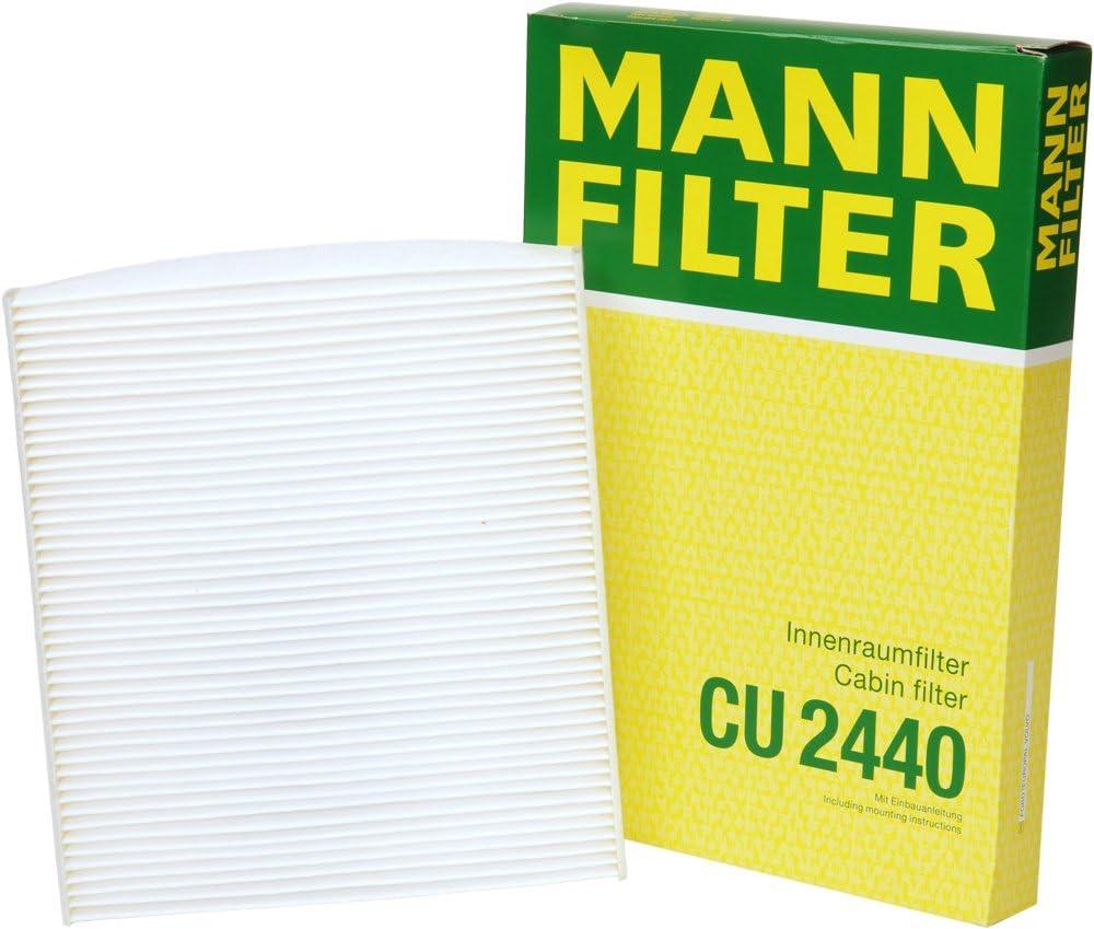 Mann-Filter CU 2440 Cabin Filter for select Volvo models