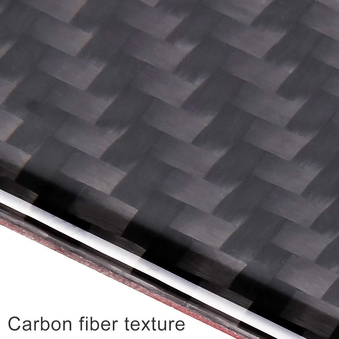 Deluxe Gen Aotopower YHM 2 in 1 Carbon Lenkrad Knopfleiste Innen DIY Aufkleber f/ür Honda Civic 10