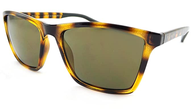 480a2013ec3 Ted Baker Wade Sunglasses Brown Tortoise 1456 183  Amazon.co.uk  Clothing