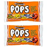 Tootsie Roll Pops Assorted Flavors 6.0 oz (Pack of 2)