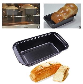 Jamicy Molde para pan de pastel de acero al carbono para horno