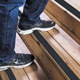 Anti Slip Traction Tape,Kyson Non Slip Tape Anti Skid Safety Tape-4 Inch x 16.4 Foot,Tread High Friction Strong Grip Abrasive-for Stairs, Safety, Tread Step, Indoor, Outdoor,Black