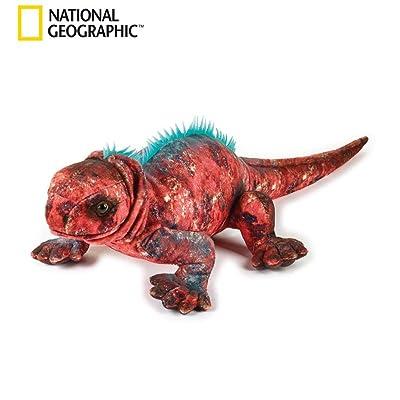 NATIONAL GEOGRAPHIC Marine Iguana Plush: Toys & Games