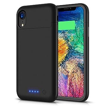 LCLEBM - Funda con batería para iPhone 6 Plus/6S Plus/7 Plus/8 Plus, 8500 mAh, Cargador portátil Compatible con iPhone 6 Plus/6S Plus/7 Plus/8 Plus