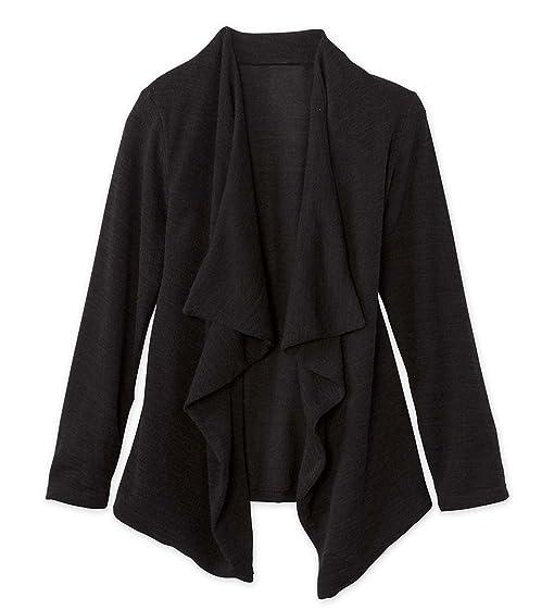 Amazon.com: Girl's Long Sleeve Ruffle Cardigan Sweater Polyester ...