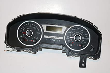 Amazon com: 05-06 Ford Expedition Msg Center Instrument Cluster