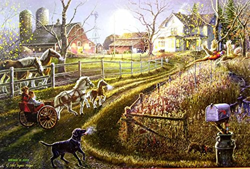 Pony Express 1000 Piece Jigsaw Puzzle by SunsOut