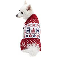 Blueberry Pet 15 Patterns Christmas Clothes - Christmas Family Sweaters for Dogs, Children…