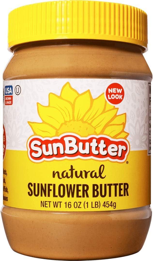 Sunbutter Natural Sunbutter B41295 Sunflower Seed Spread - 16oz