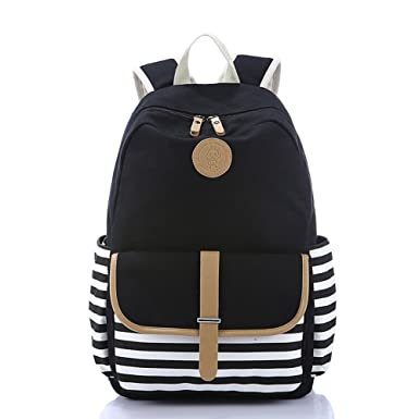 Amazon.com | Abshoo Causal Travel Canvas Rucksack Backpacks for ...