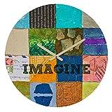 Deny Designs Elizabeth St Hilaire Nelson, Imagine 2 , Round Clock, Round, 12''