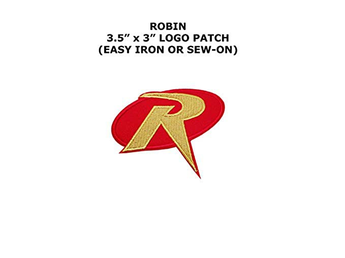 Amazon Robin Boy Wonder Superheroes Embroidered Ironsew On