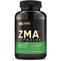 Optimum Nutrition ZMA, Zinc for Immune Support, Muscle Recovery and Endurance Supplement...