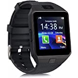 GZDL Bluetooth Smart Watch DZ09 Smartwatch GSM SIM Card With Camera For Android IOS Silver Black