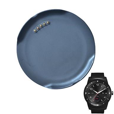 LG G Watch R W110 carga cuna, NEXTANY® cargador base de carga y sincronización