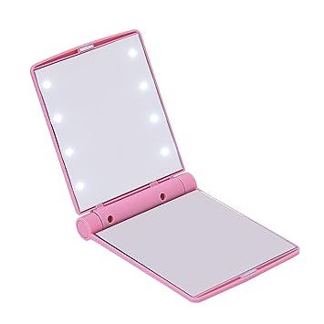 Amazon Com Hde Mini Portable Folding Makeup Cosmetic Folding Travel